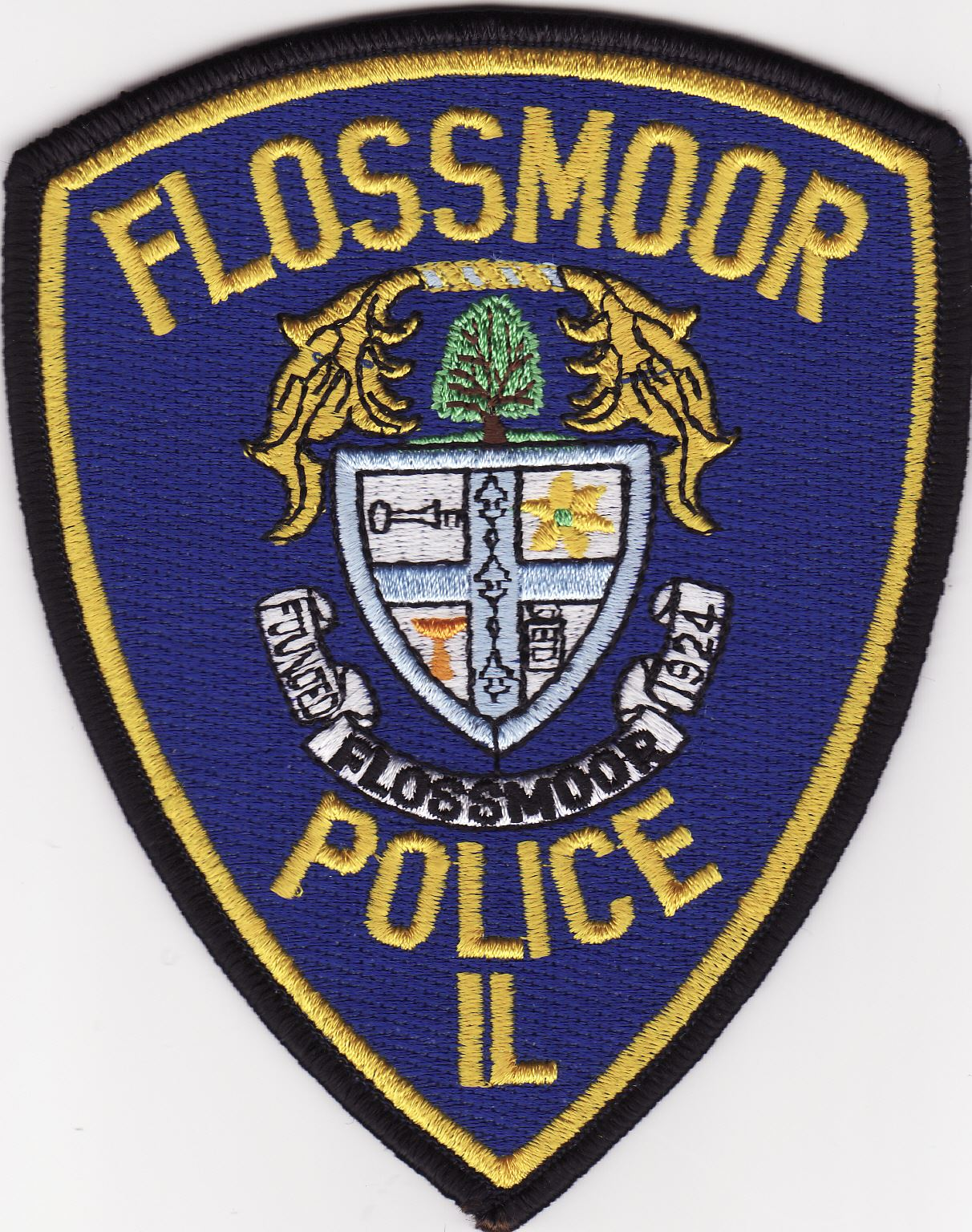 Flossmoor Police Department Patch