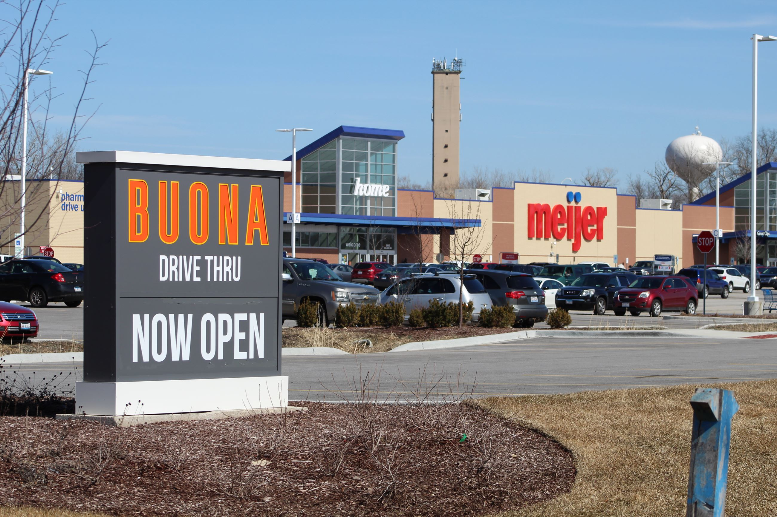 Photo of Meijer Development with Buona Beef Sign