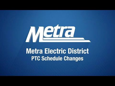 Metra announcement logo