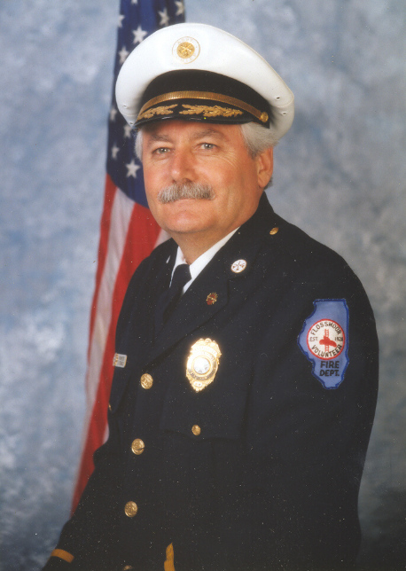 Retired Fire Chief Daniel Hornback